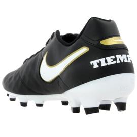 Buty piłkarskie Nike Tiempo Genio Ii Leather Fg M 819213-010 czarne czarne 3