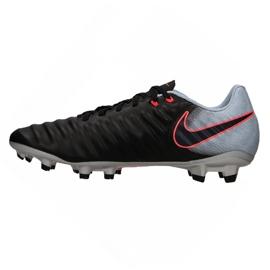 Buty piłkarskie Nike Tiempo Ligera Iv Fg M 897744-004 czarne wielokolorowe 1