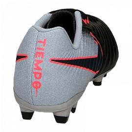 Buty piłkarskie Nike Tiempo Ligera Iv Fg M 897744-004 czarne wielokolorowe 3