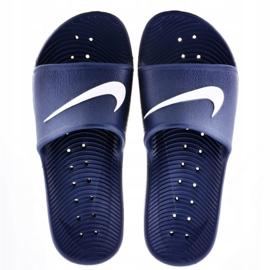 Klapki Nike Sportswear Kawa Shower M 832528-400 granatowe 1