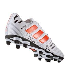 Buty piłkarskie adidas Nemeziz Messi 17.4 FxG M S77199 wielokolorowe białe 1