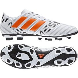 Buty piłkarskie adidas Nemeziz Messi 17.4 FxG M S77199 wielokolorowe białe 2