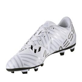Buty piłkarskie adidas Nemeziz Messi 17.4 FxG M S77199 wielokolorowe białe 3