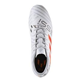 Buty piłkarskie adidas Nemeziz Messi 17.4 FxG M S77199 wielokolorowe białe 4