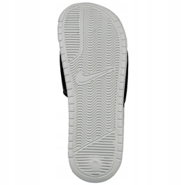 Klapki Nike Sportswear Benassi Just Do It Print W 618919-013 beżowy brązowe 2