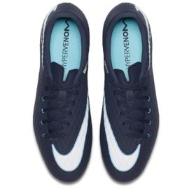 Buty piłkarskie Nike Hypervenom Phelon Iii Fg M 852556-414 granatowe granatowe 2