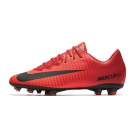 Buty piłkarskie Nike Mercurial Vapor Xi Fg Jr 903594-616 wielokolorowe czerwone 1