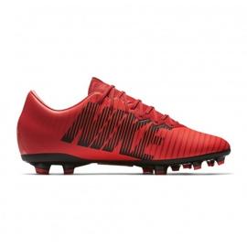 Buty piłkarskie Nike Mercurial Vapor Xi Fg Jr 903594-616 wielokolorowe czerwone 3
