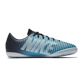 Buty halowe Nike Mercurial Vapor Xi Ic Jr 831947-404 niebieskie 1