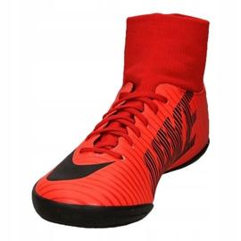 Buty halowe Nike MercurialX Victory 6 Df Ic Jr 903599-616 czerwone czerwone 3