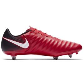Buty piłkarskie Nike Tiempo Ligera Iv Sg M 897745-616 czerwone czerwone 1