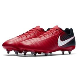 Buty piłkarskie Nike Tiempo Ligera Iv Sg M 897745-616 czerwone czerwone 3