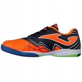 Buty halowe Joma Super Copa In Jr SCJS.808.IN pomarańczowe zielone 1