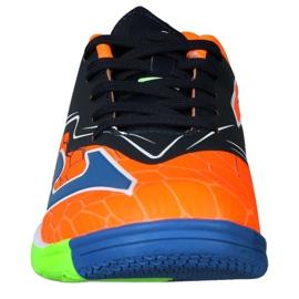 Buty halowe Joma Super Copa In Jr SCJS.808.IN pomarańczowe zielone 3