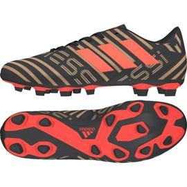 Adidas Buty piłkarskie adias Nemeziz Messi 17.4 FxG M CP9046 wielokolorowe czarne 2