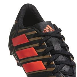 Adidas Buty piłkarskie adias Nemeziz Messi 17.4 FxG M CP9046 wielokolorowe czarne 3