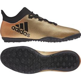 Buty piłkarskie adidas X Tango 17.3 Tf M CP9135 wielokolorowe złoty 1