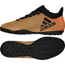 Buty piłkarskie adidas X Tango 17.3 Tf M CP9135 wielokolorowe złoty 3