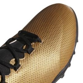 Buty piłkarskie adidas X Tango 17.3 Tf M CP9135 wielokolorowe złoty 5