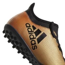 Buty piłkarskie adidas X Tango 17.3 Tf M CP9135 wielokolorowe złoty 6