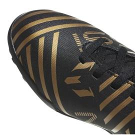 Buty piłkarskie adidas Nemeziz Messi Tango 17.4 Tf Jr CP9217 czarne 2