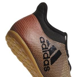 Buty halowe adidas X Tango 17.3 In M CP9139 wielokolorowe złoty 2