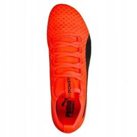 Buty piłkarskie Puma Evo Power Vigor 3 Fg M 104297 01 czerwone wielokolorowe 1
