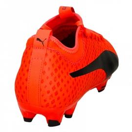 Buty piłkarskie Puma Evo Power Vigor 3 Fg M 104297 01 czerwone wielokolorowe 2