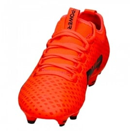 Buty piłkarskie Puma Evo Power Vigor 3 Fg M 104297 01 czerwone wielokolorowe 3