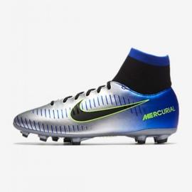 Buty piłkarskie Nike Mercurial Victory Vi Df Neymar Fg Jr 921486-407 srebrny wielokolorowe 1