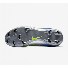 Buty piłkarskie Nike Mercurial Victory Vi Df Neymar Fg Jr 921486-407 srebrny wielokolorowe 2