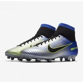 Buty piłkarskie Nike Mercurial Victory Vi Df Fg Neymar M 921506-407 wielokolorowe srebrny 3