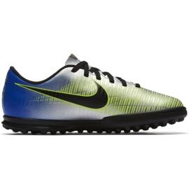 Buty piłkarskie Nike MercurialX Vortex Iii Neymar Tf Jr 921497-407 wielokolorowe niebieskie 1