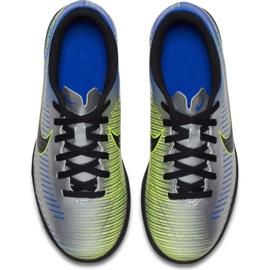 Buty piłkarskie Nike MercurialX Vortex Iii Neymar Tf Jr 921497-407 wielokolorowe niebieskie 3