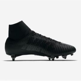 Buty piłkarskie Nike Mercurial Victory Vi Df Sg 903610-001 czarne czarne 3