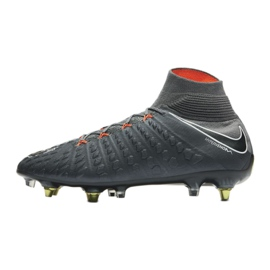 Buty piłkarskie Nike Hypervenom Phantom 3 Elite Df Fg Ac M AH7269-081 szare szare 1
