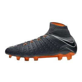 Buty piłkarskie Nike Hypervenom Phantom 3 Elite Df Fg M AH7270-081 szare szare 1