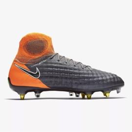 Buty piłkarskie Nike Magista Obra 2 Elite Ac Sg Pro M AH7304-080 szare szare 1
