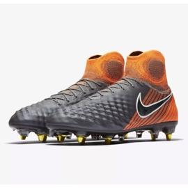 Buty piłkarskie Nike Magista Obra 2 Elite Ac Sg Pro M AH7304-080 szare szare 3