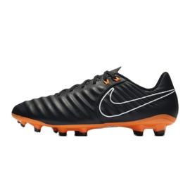 Buty piłkarskie Nike Tiempo Legend 7 Academy Fg M AH7242-080 czarne czarne 1
