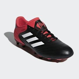 Buty piłkarskie adidas Copa 18.4 FxG M CP8960 czarny, czerwony czarne 3