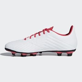Buty piłkarskie adidas Predator 18.4 FxG M CM7669 białe wielokolorowe 1