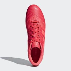 Buty piłkarskie adidas Nemeziz 17.4 FxG M CP9007 czerwone wielokolorowe 2