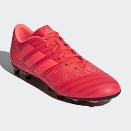 Buty piłkarskie adidas Nemeziz 17.4 FxG M CP9007 czerwone wielokolorowe 3