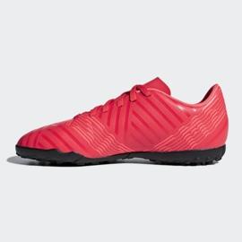 Buty piłkarskie adidas Nemeziz Tango 17.4 Tf Jr CP9215 czerwone wielokolorowe 1