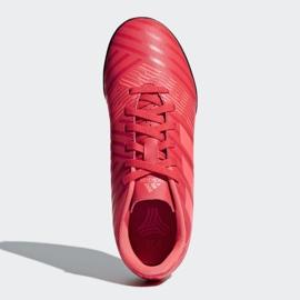 Buty piłkarskie adidas Nemeziz Tango 17.4 Tf Jr CP9215 czerwone wielokolorowe 2
