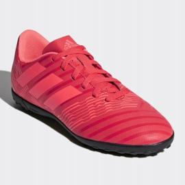 Buty piłkarskie adidas Nemeziz Tango 17.4 Tf Jr CP9215 czerwone wielokolorowe 3