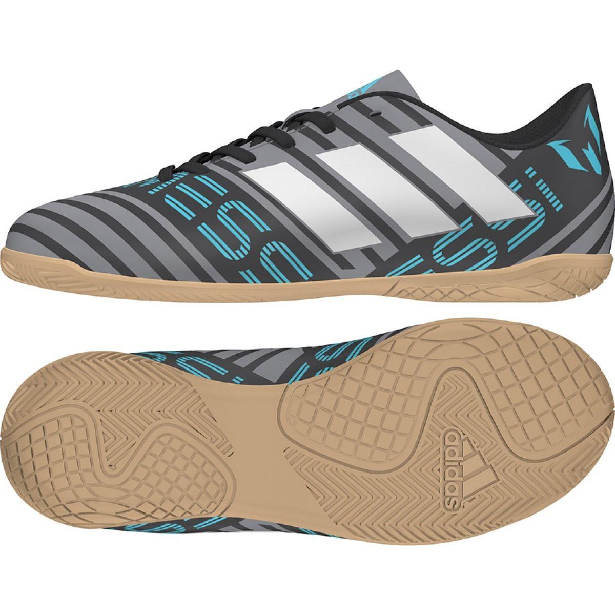 bliżej na 100% jakości 100% autentyczności Buty adidas Nemeziz Messi Tango In Junior CP9225 szary/srebrny,  wielokolorowy wielokolorowe
