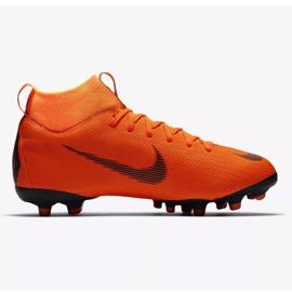 Buty piłkarskie Nike Mercurial Superfly 6 Academy Gs Mg Jr AH7337-810 pomarańczowe wielokolorowe 1