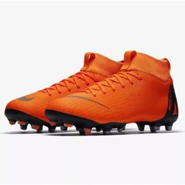 Buty piłkarskie Nike Mercurial Superfly 6 Academy Gs Mg Jr AH7337-810 pomarańczowe wielokolorowe 3